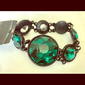 Green sparkle chunky bracelet!!!
